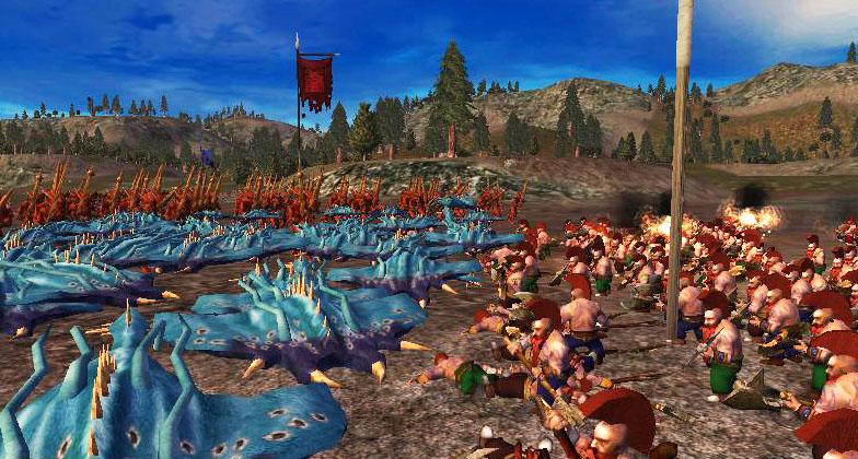 Call Of Warhammer Total War скачать