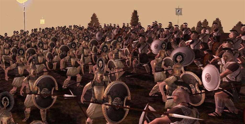 Александр total war