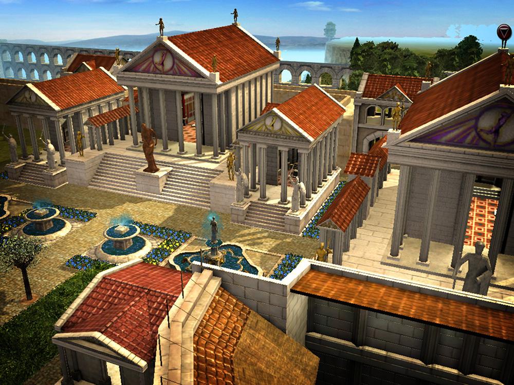 Игра Строим Римскую Империю