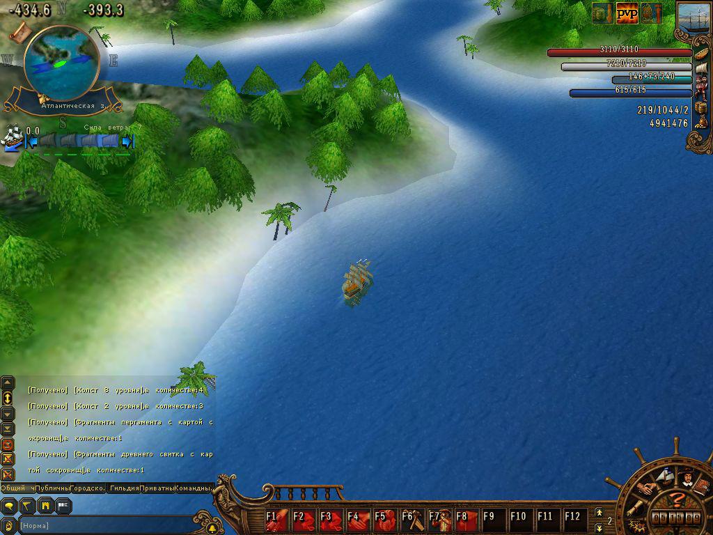 Игра Пираты Онлайн Сокровище Пирата